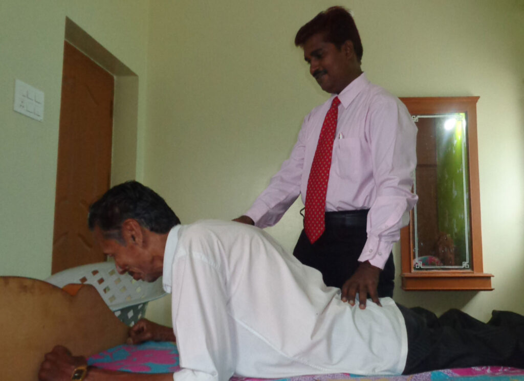 McKenzie Exercise to Back Pain